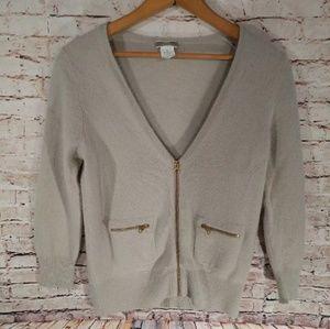 100% cashmere JCrew Sweater, sz S**